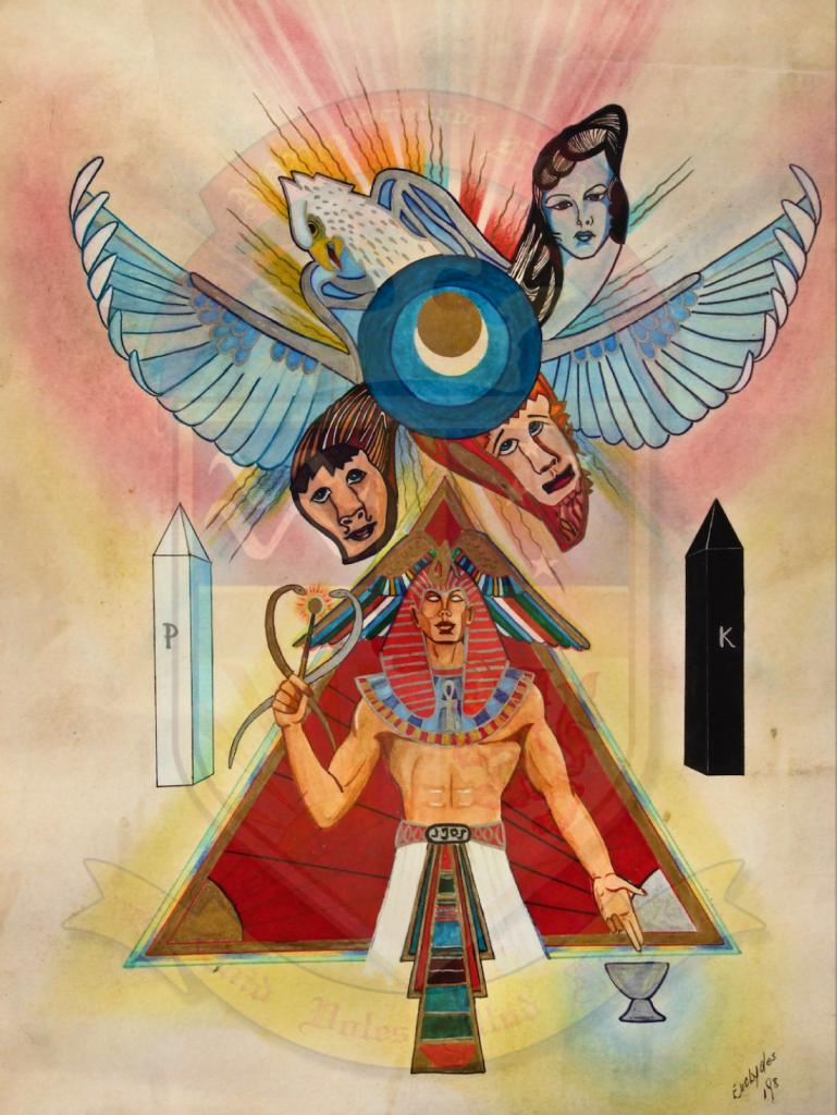 Pintura de Frater Aster